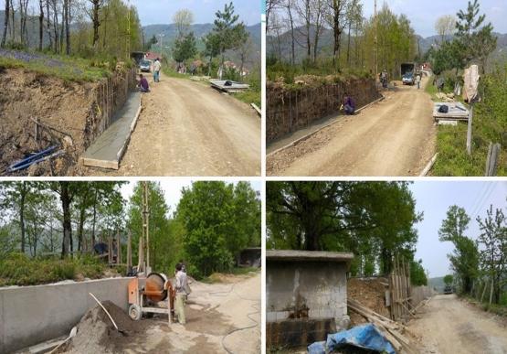 Altyapı ve Yol çalışmaları