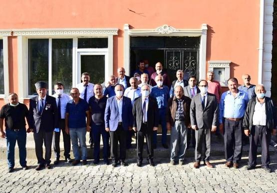Vali Mustafa Tutulmaz'dan Yol Çalışmaları Ziyareti