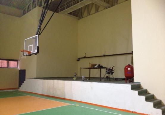 Spor Salonu Baştan Sona Çalışmalar
