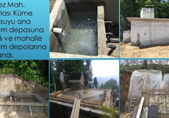 Yapılan Su Çalışmaları