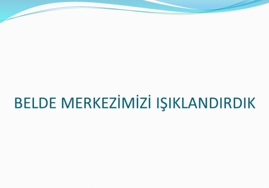 Gümeli Belediyesi 2016 yılı faaliyet raporu