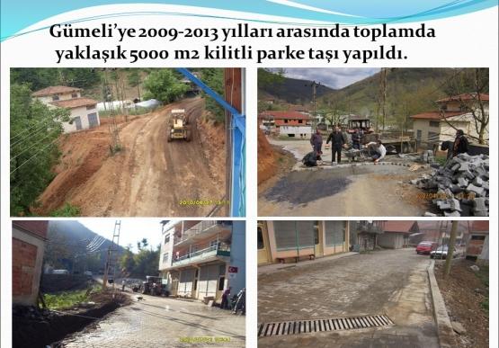 Gümeli Belediyesi 2009-2015 yılları faaliyet raporu