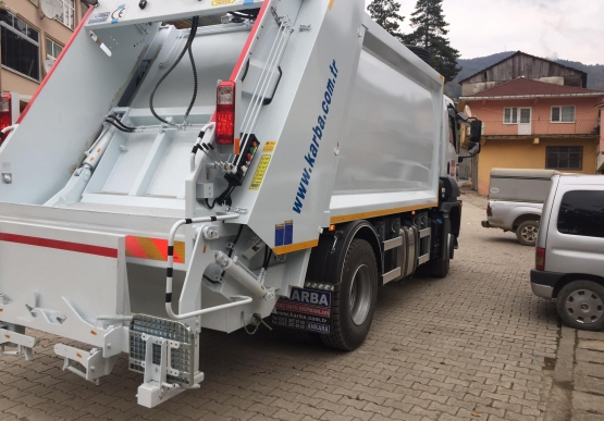 Gümeli Belediyesi Çöp Aracına Kavuştu